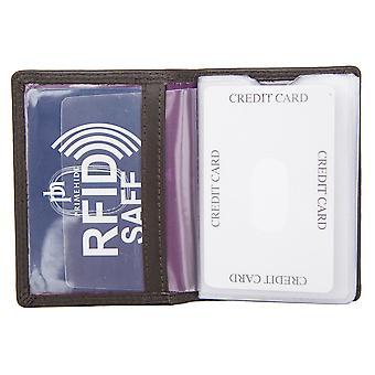 Primehide miesten ohut RFID esto luottokortin haltija lompakko gents notecase 3100