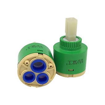 40MM Spool Single Seal Handle Faucet Green Plastic