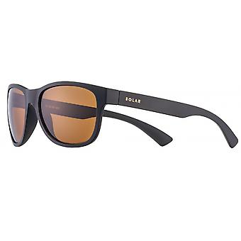 Sunglasses Men's Smaller Men polarizes matt black