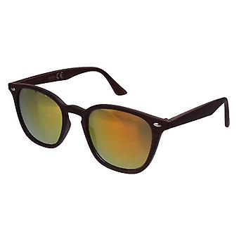 Sonnenbrille Unisex  Wayfarer   gelb/braun (20-207A)