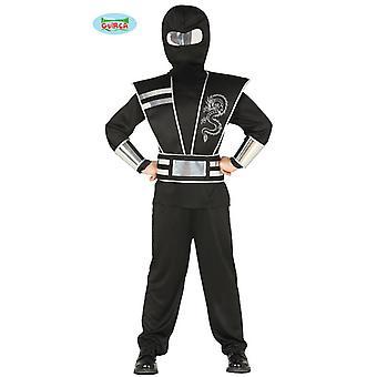 Filho de Ninjakostüm Ninja traje crianças Japão lutador traje