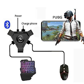 Bluetooth Adapter Mobile Gamepad Usb Controller Gaming Keyboard Mouse Converter For Pubg Game Android Phone To Pc