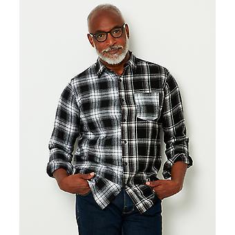 Joe Browns Mens Mix och Match Check Print Casual Shirt