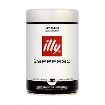 Illy bakken kaffe - mørk steke - Illy kaffe - mørk steke