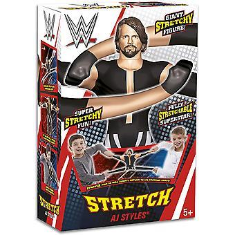 WWE AJ Styles Stretch Wrestling Speelgoed