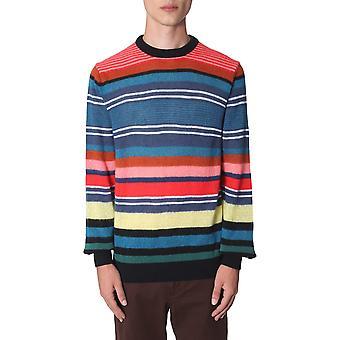 Ps Door Paul Smith M2r424ta2065025 Men's Multicolor Wool Sweater