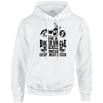I'm a Biker Uncle Except Much Cooler Unisex Hoodie 10 Colours (S-5XL) by swagwear