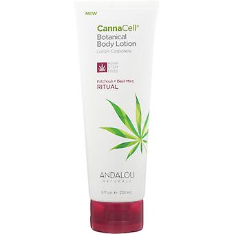 Andalou Naturals CannnCell Body Lotion, Ritual 8 Oz