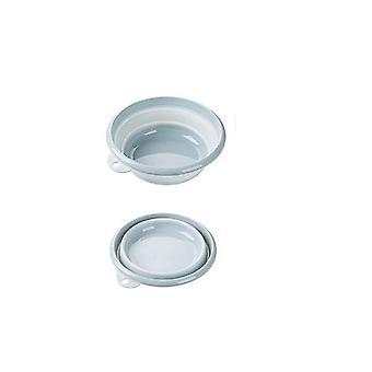 Seau pliable portable Washbasin - Washbasin en silicone