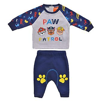 Paw patrulje baby drenge outfit sæt pote12844out