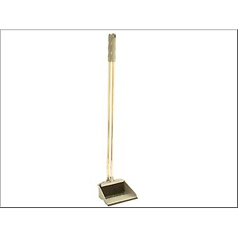 Addis Long Handle Dustpan Set Metallic 501043