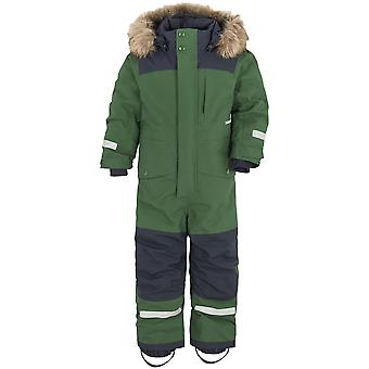 Didriksons Bjornen 4 Kids Snowsuit | Leaf Green