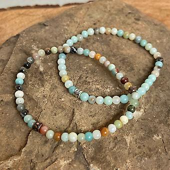 Amazonite Mini perle armbånd