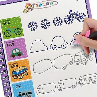 Children's Drawing Books, Learning Painting, Writing, Copybook For Calligraphy