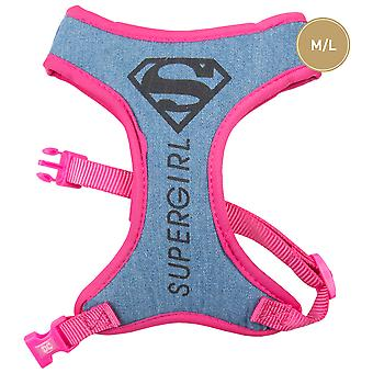 For Fan Pets Supergirl harness (Dogs , Collars, Leads and Harnesses , Harnesses)