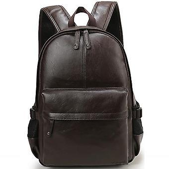 Men Leather Waterproof Travel Bag