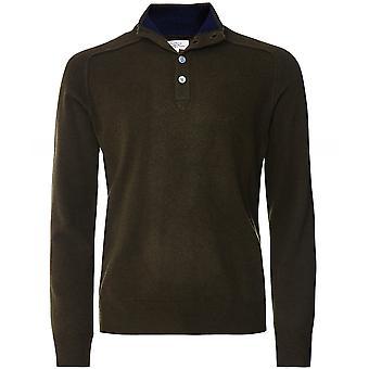Hartford Wool Cashmere Half-Button Jumper