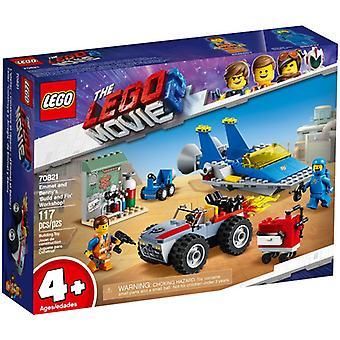 LEGO 70821 Emmets ja Benny rakennus-ja Korjaamo palvelut