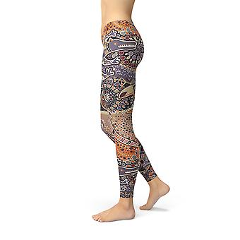 Dames's Aboriginal Dreamtime Leggings