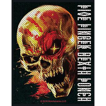 Five Finger Death Punch Patch And Justice For None Official Woven (10cm x 10cm)