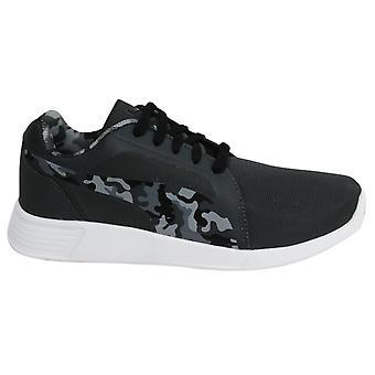 Puma ST Evo Dark Grey Camo Lace Up Mens Sports Trainers 362225 01 B31D