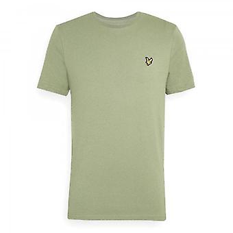 Lyle & Scott Plain Crew Neck T-Shirt Moss Green TS400VOG