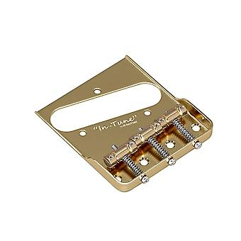 "Gotoh Bs-tc1sc Telecaster Replacement Bridge With Brass ""in-tune"" Saddles"