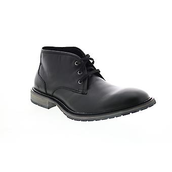 Andrew Marc Woodside  Mens Black Leather Chukkas Boots
