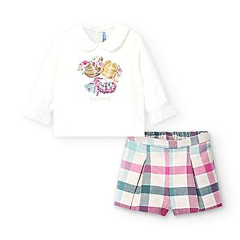 Mayoral baby girls short set 2221/35