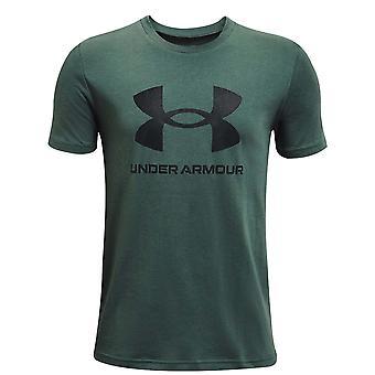 Under Armour Kids Sportstyle Logo Short Sleeve Crew Neck T-Shirt T Shirt Tee Top