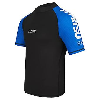 Fumetsu Concurrent MK1 Short Sleeve Rash Guard Bleu