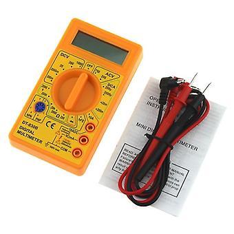 اختبار رقمي متعدد المقاييس، سعة ترانزستور الكهربائية السيارات