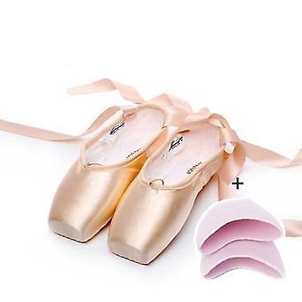 Kvinders Professionelle Ballet Dancing Sko med tå Pads