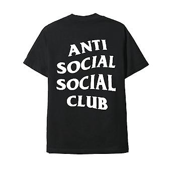 Anti Social Social Club T-Shirt Svart