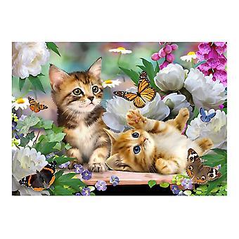 Tuftop Medium Textured Worktop Saver, Playtime Cats 40 x 30cm