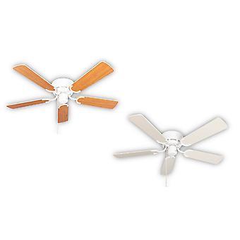 Ceiling fan Kisa Deluxe WH White / Maple