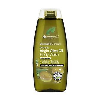 Organic Olive Body Wash, 250 ml - corpo detergent 250 ml