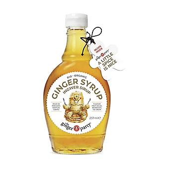 Organic Ginger Syrup 237 ml