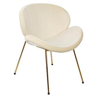 Dining Chair Dekodonia Polyester Metal (80 x 48 x 80 cm)