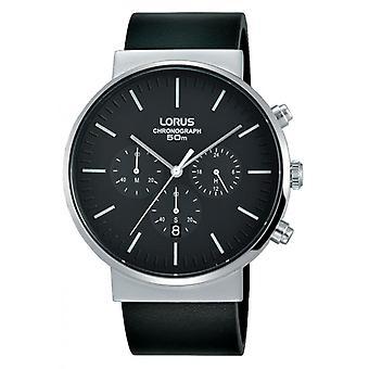 Titta på Lorus RT373GX8 - classic läder svart man