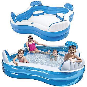 Intex 90'' x 90'' Swim Center™ Family Lounge Pool