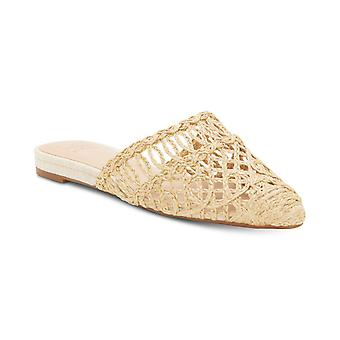 INC International Concepts Womens Macaria Suede Pointed Toe Special Occasion Slide Sandals