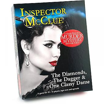 University Games The Diamonds, The Dagger & One Classy Dame Murder Mystery Game