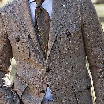 Vintage Wool Hunting Coat