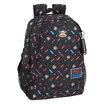 School Bag Paul Frank Retro Gamer Black