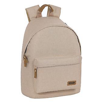Laptop Backpack Safta 14,1'' Beige