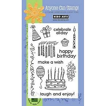 Hero Arts Celebrate All Day Clear Stamp