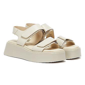 Vagabond Courtney Womens Off White Sandals