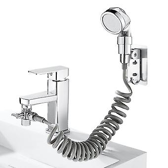Multi-functional Tap Faucet Shower Nozzle Sink Shampoo Shower Head Bathroom Spray Drain Filter Hose