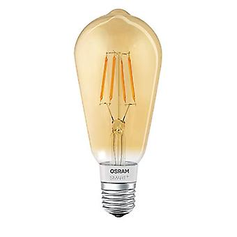 Osram Smart+ Bluetooth Filament LED Bulb, Compatible with Apple Homekit and Android Edison Shape, E27, 60W Equivalent, Ref. 4058075174528
